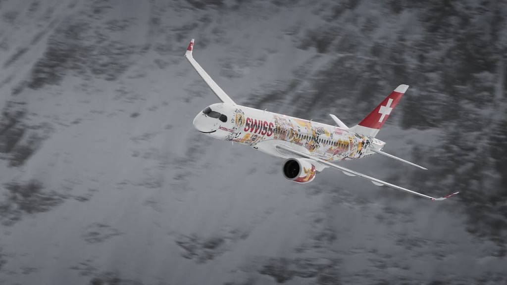 SWISS LAUBERHORN 2018 - AIR DISPLAY