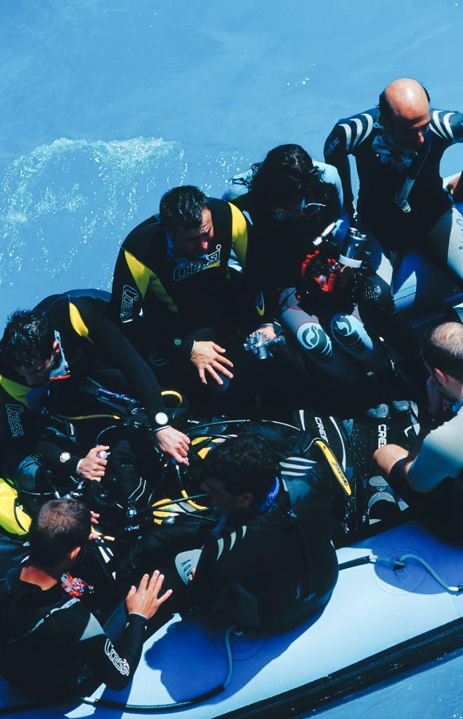 Divers, Egypt 2007 - 35x52cm
