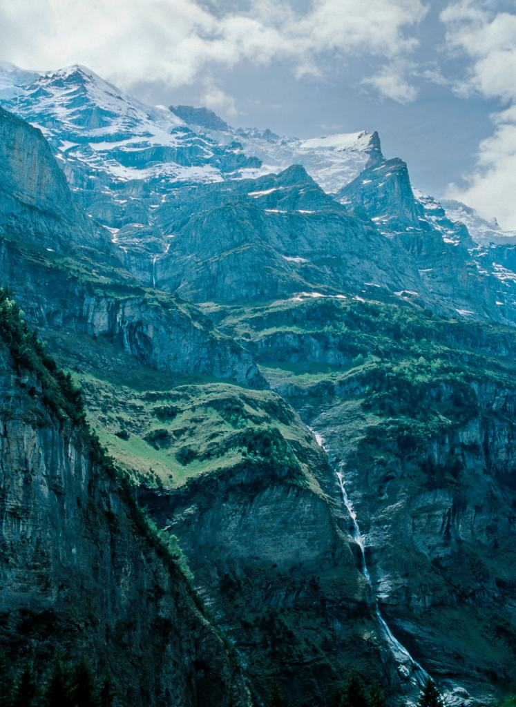 Lauterbrunnen Valley Switzerland 2005 - 40x53cm