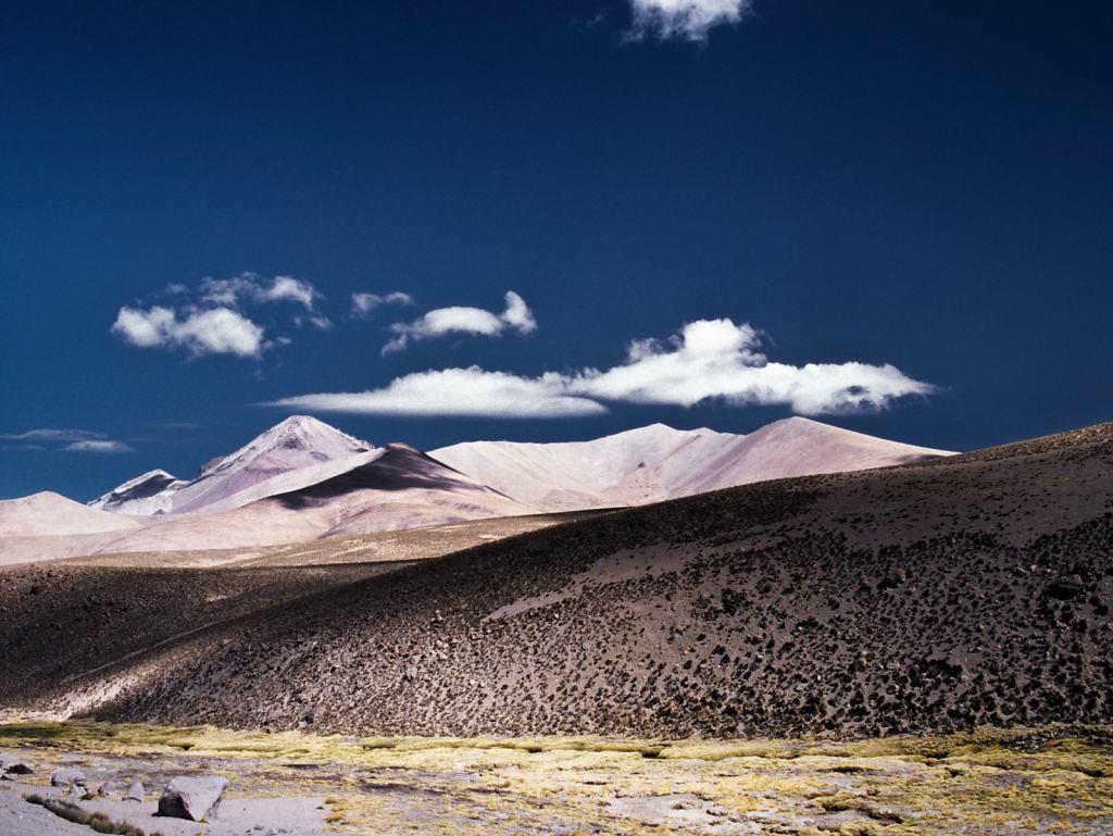 Berge im Lauca Nationalpark, Chile